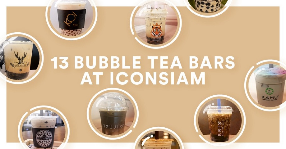 iconsiam dining 13 bubble milk tea brands at iconsiam bubble milk tea brands at iconsiam
